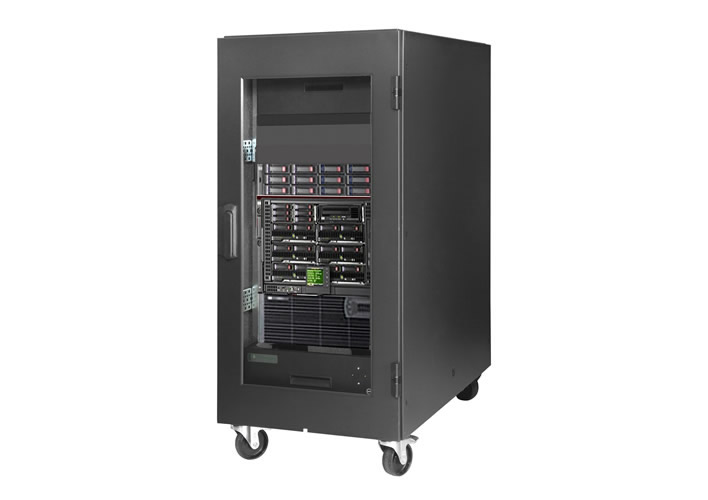 AcoustiRACK ACTIVE Sound Proof Rackmount IT Cabinet with Active ...