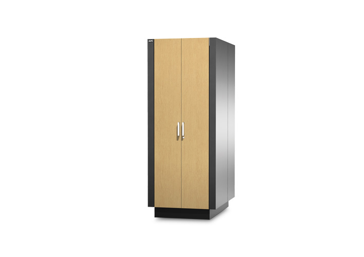 apc netshelter cx 18u 24u 38u server room in a box apc. Black Bedroom Furniture Sets. Home Design Ideas