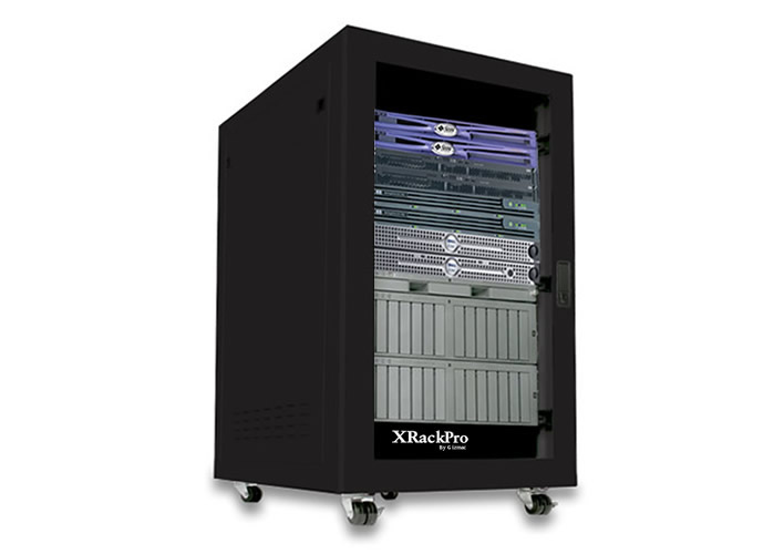 XRackPro and XRackPro2 Soundproofed Quiet Rackmount 19in Cabinets ...