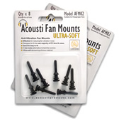Ultra Soft Fan Mounts - Retail Packaging