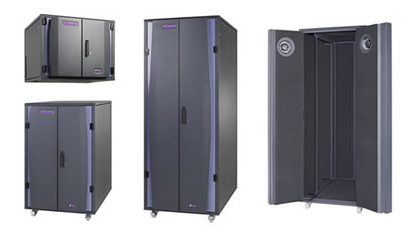 UCoustic Range of Quiet Rack Cabinets - NEW to Acousti Products